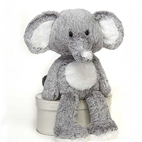 Nelly Cuddle Fuzzy Elephant warmable weights approx 1-2 lbs for sensory benefit (Tummy Game Ache)