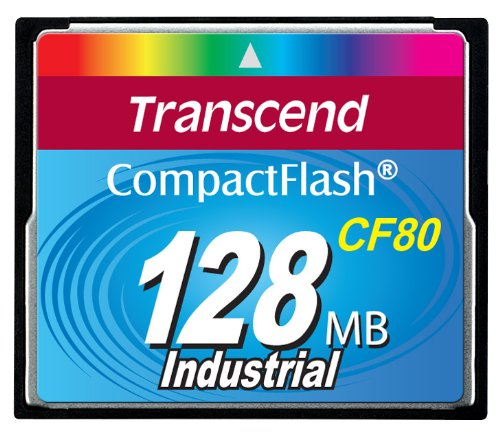 Transcend 128M Compact Flash Card 80X Ts128Mcf80