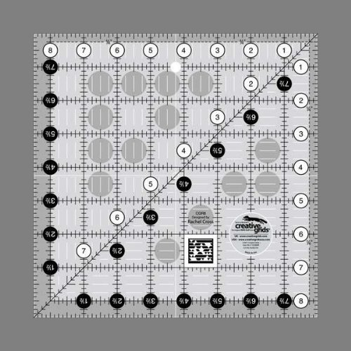 Creative Grids Quilting Ruler 8 1/2 Square Creative Grids USA