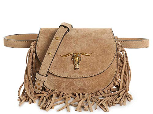 Polo Ralph Lauren Steer-Head Leather Belt Bag (Polo Lauren Ralph Handbags)