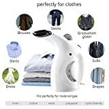 Stvin handheld garment steamer iron for clothes for home and facial steamer portable (Color May vary)