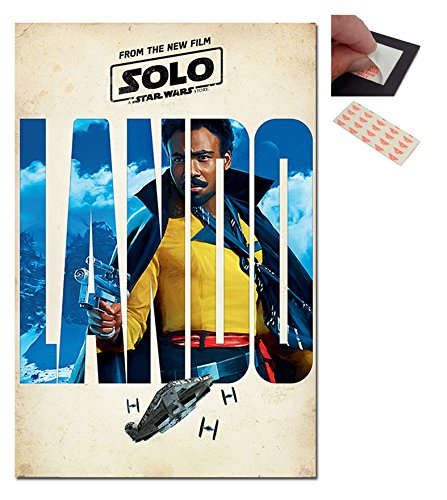 Solo A Star Wars Story Lando Teaser Poster - 91.5 x 61cms