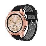 Compatible para Samsung Galaxy Watch 42mm / 46mm Bandas- Becoler Sports Silicona Pulsera Correa Watch Band para Samsung Galaxy Watch 42mm/46mm
