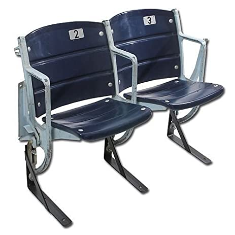 Texas Stadium Seats Dallas Cowboys Game USED Connected Pair Of Chairs COA