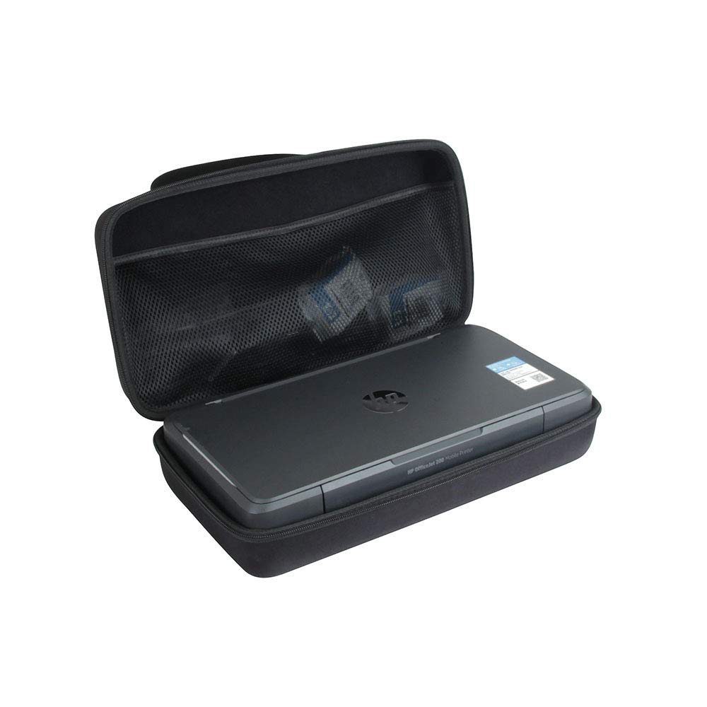 Anleo Hard Travel Case fits HP OfficeJet 200 Portable Printer with Wireless & Mobile Printing (CZ993A)