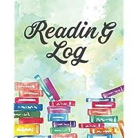 "Reading Log: Book Lover Record Jorunal - Reading Journal - 8""x10"" Over 100+ Book Record - (Softback): Reading Log"