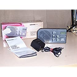 Sharper Image Sound Soother Radio Alarm SI420 VERY LOUD