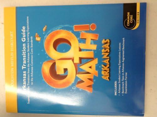 Houghton Mifflin Harcourt Go Math! Arkansas: Student Edition ...