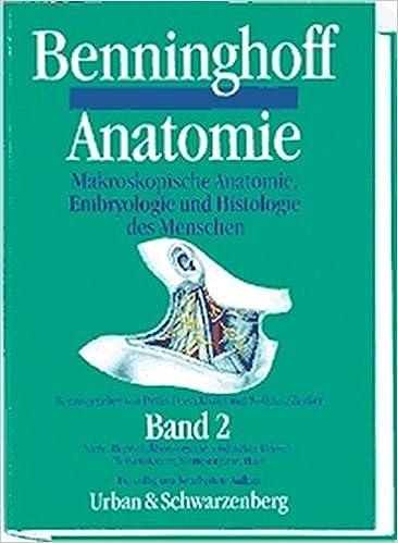 Anatomie, 2 Bde. Bd.2, Niere, Reproduktionsorgane, endokrine Drüsen ...