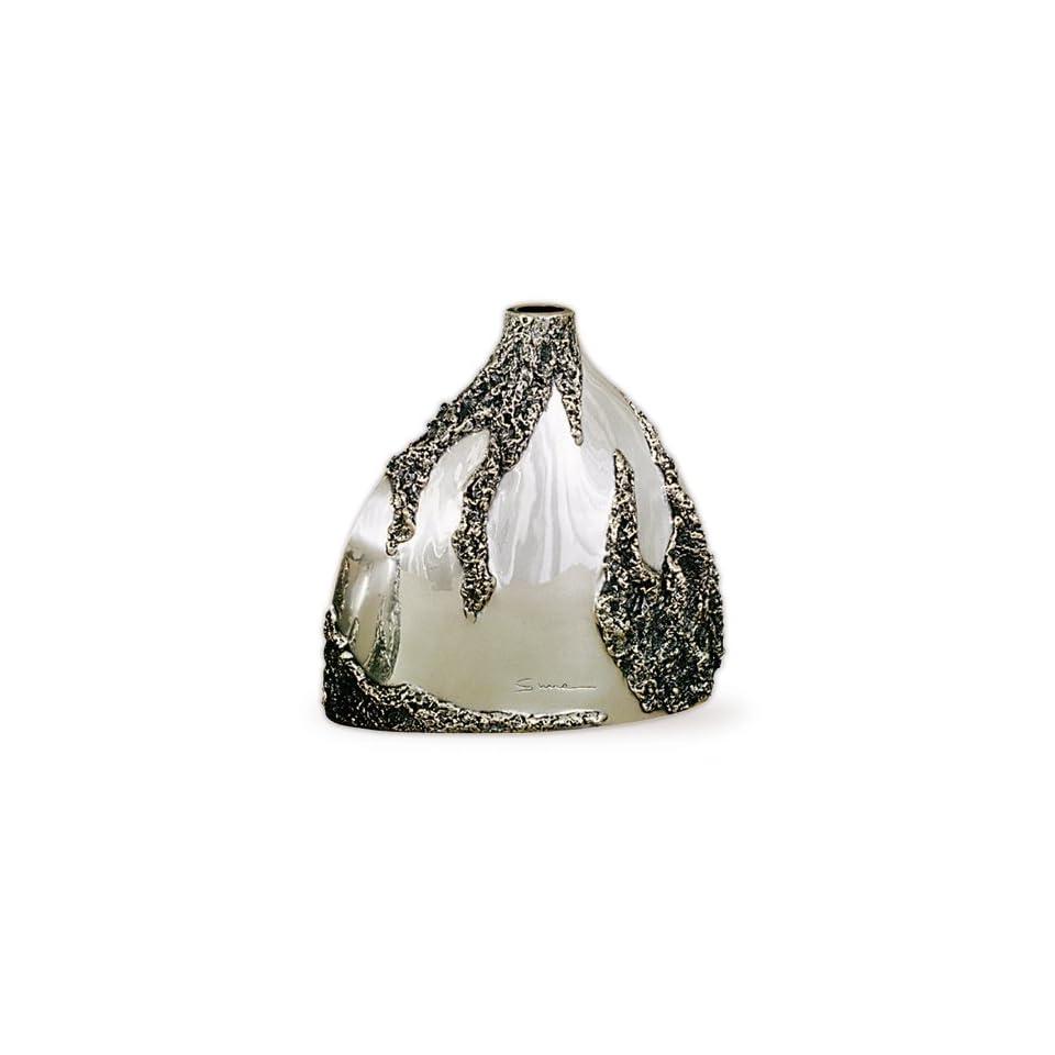 Silver Plated Short Vase U103
