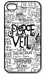 International Market Trading? Pierce the Veil Hard Case Cover for Iphone 6 4.7 Inch Verizon T-Mobile AT&T Sprint Mobile Wireless +with one random color Hair Ties