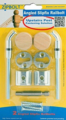 Zipbolt Angled Slipfix Railbolt 13.960 (5 Pack) by Zipbolt