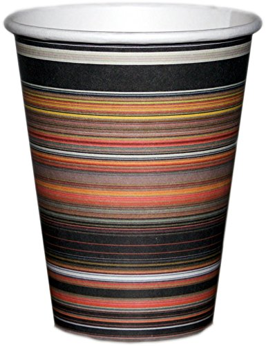 Barista™ #1 Disposable Cups & Firm-Fit Lids; 100/pk 12 oz; FUN FRESH CLASSIC; By The Gripple Ripple Cups; EcoSmart - OFFICE CUPS- EVENT CUPS-HOLIDAY CUPS (FIRESIDE WARMTH)