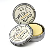Lemon Verbena Happy Hands Natural Beeswax & Shea Butter Solid Lotion Bar Pair. Keeps Skin Moisturized & Protected, Great Idea for Women & Men, Compact & Concentrated