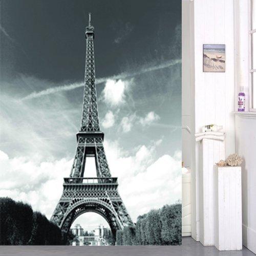 Famous Landmark Pattern Fabric Curtain product image