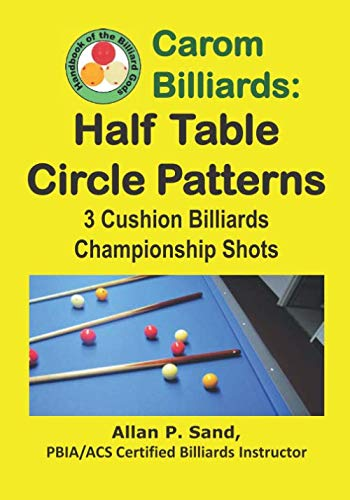Carom Billiards: Half Table Circle Patterns: 3-Cushion Billiards Championship - 3 Cushion Billiard