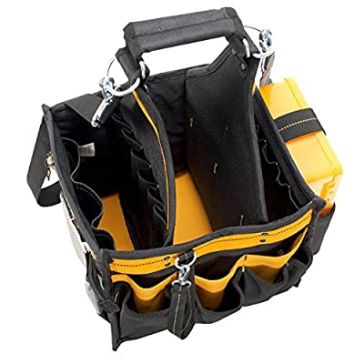 DEWALT DG5582 11-Inch Electrical and Maintenance Tool Carrier with Parts Tray from DEWALT