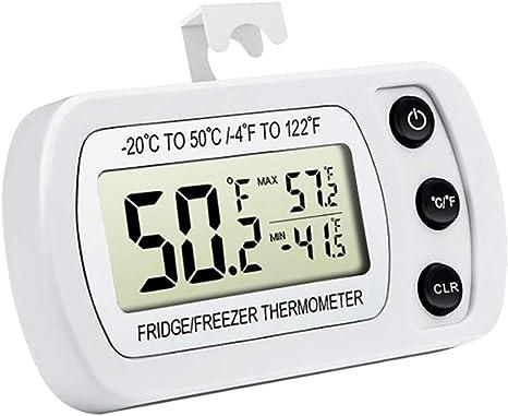 TiooDre Termómetro para refrigerador Termómetro para refrigerador ...