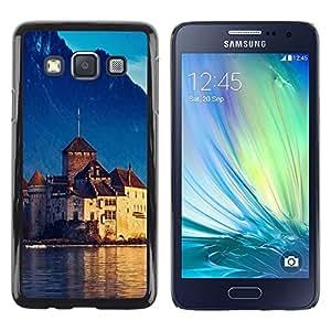 Smartphone Rígido Protección única Imagen Carcasa Funda Tapa Skin Case Para Samsung Galaxy A3 SM-A300 Nature Beautiful Forrest Green 96 / STRONG