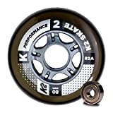 K2 Skate Performance 82A 8 Wheel Pack with ILQ 7