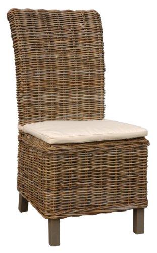 Jeffan International Samurai Chair, King, Oatmeal, 2-Piece by Jeffan International