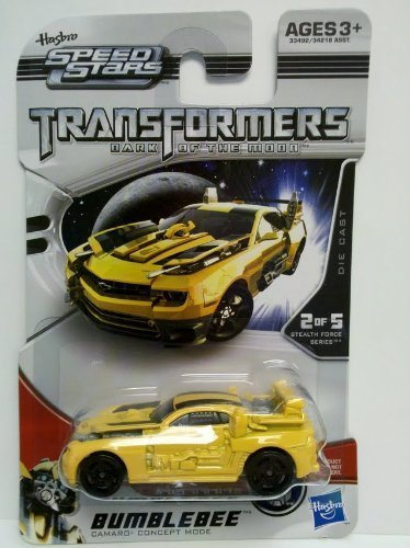 Transformers 3 Dark of the Moon Speed Stars Die Cast Bumblebee - 2 of 5 Stealth Force (Stealth Bumble Bee)