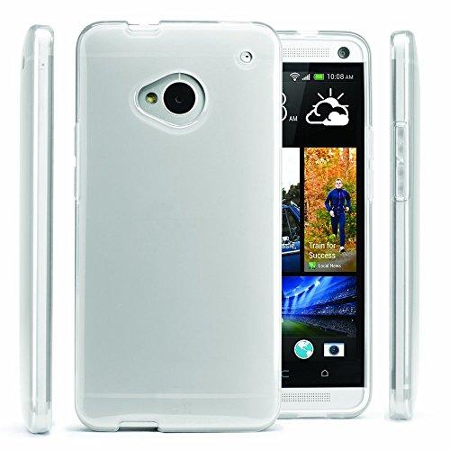 HTC One M7 Soft Slim Skin TPU Gel - Htc One M7 Phone Case