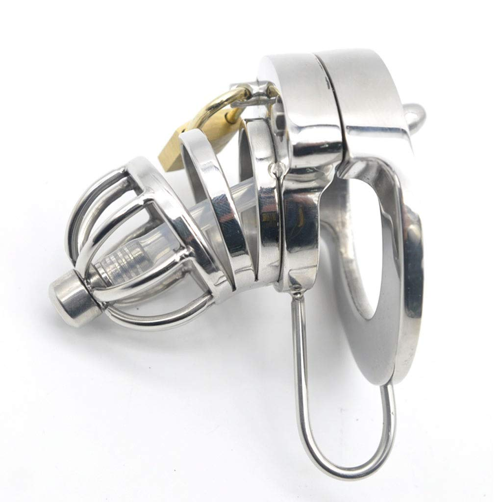 CXQ Fun Stainless Steel Game Massǎge Health Care Chicken Cage Toy (Size : 40mm)