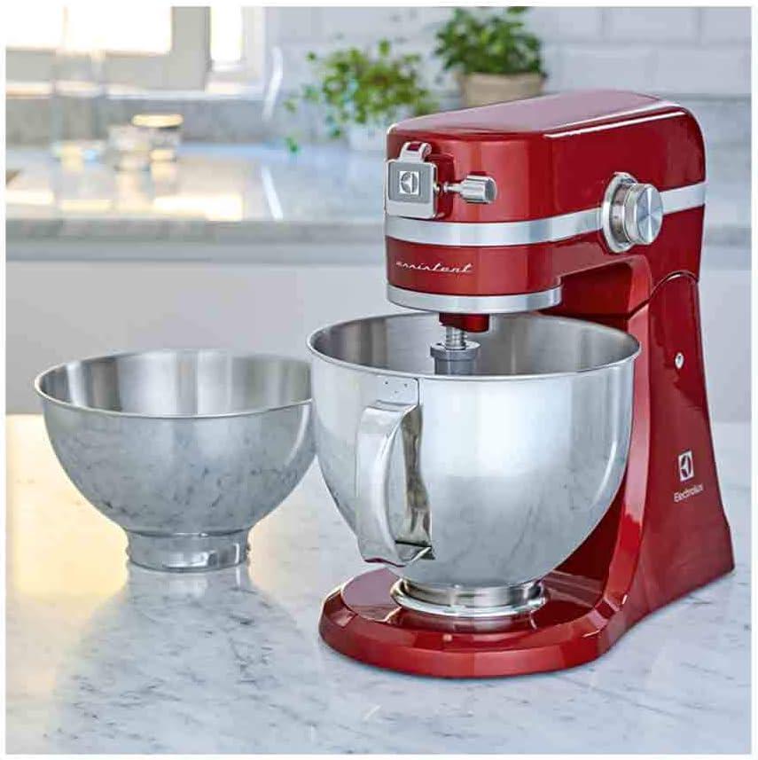Electrolux EKM4000 Assistent-Robot de Cocina, 1000 W de Potencia, Color Rojo, 4.8 Liters, Acero inoxidable, 10 Velocidades: Amazon.es: Hogar