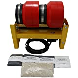 MJR Tumblers Dual Barrel 12 LB Rock Tumbler with Grit Kit