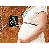 SYGA Set Of 27 Pregnancy Milestone Cards - Pregnancy Reveal - Pregnancy Cards - Pregnancy Gift - Pregnancy Journal - New Mom Gift - Newborn Photo Prop