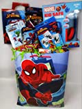 Happy Premade Spiderman Spider-man Easter Birthday Baskets Kids Girls Boys Girl Toddlers Gift Egg Toddler Gifts Themed Set Artificial Grass Decorations Toys Stuffers Bag Package Included Party Favors