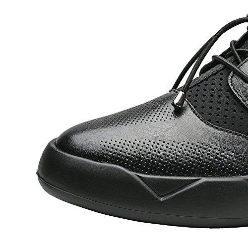 CHAMARIPA H72C11Y232D Hauteur cm 7 rehaussante Homme Chaussures Noir Augmentant SqxwZS7r