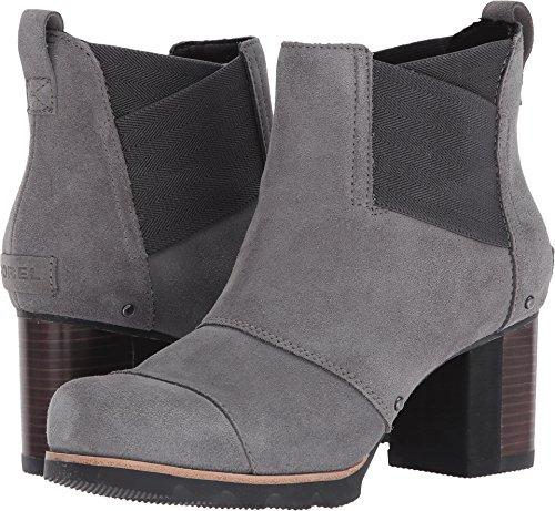 SOREL Women's Addington Chelsea Boot, Quarry, Black, 8 M US