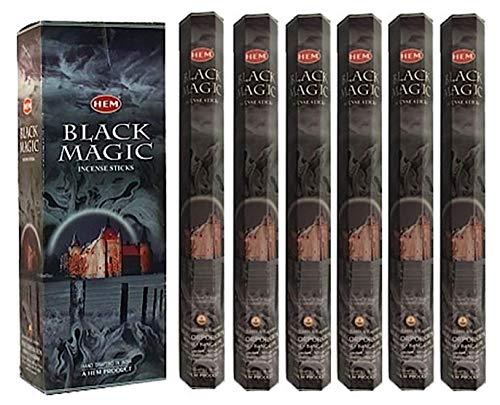 Black Magic - 120 Sticks Box - HEM Incense