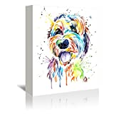 Americanflat Gallery Wrapped Canvas - Golden Doodle  - Lisa Whitehouse, 32'' x 48''