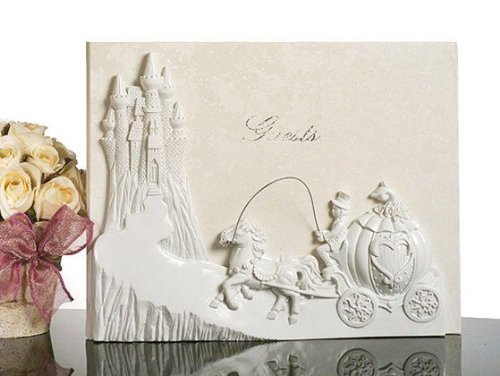 Fairytale Castle Theme Guest Book C435 Quantity of 1 (Fairy Book Guest Tale)