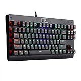 Eagletec KG040 Mechanical Gaming Keyboard RGB Backlit LED...
