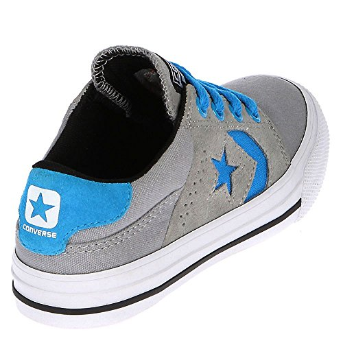 Converse Youths Cons Tre Star Ox Suede Trainers Grey