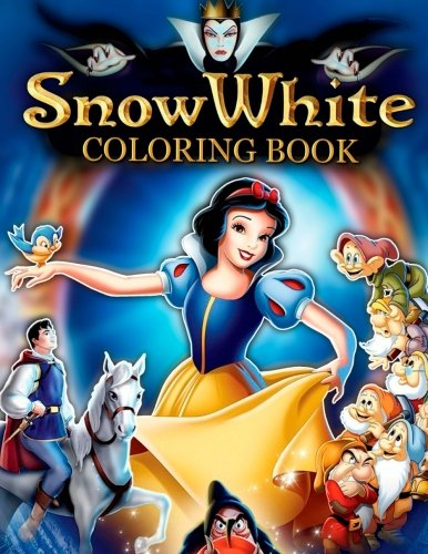 Snow and White Coloring Book: And Seven (Snow White Coloring Book)