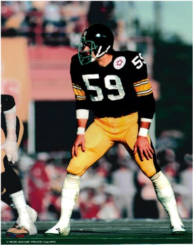 60df74b7449 Jack Ham Pittsburgh Steelers Unsigned Licensed Football Photo