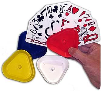 Porta Naipes Estable (4 uds.): Amazon.es: Juguetes y juegos