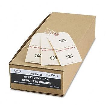 amazon com averyamp reg numbered perforated paper twine claim