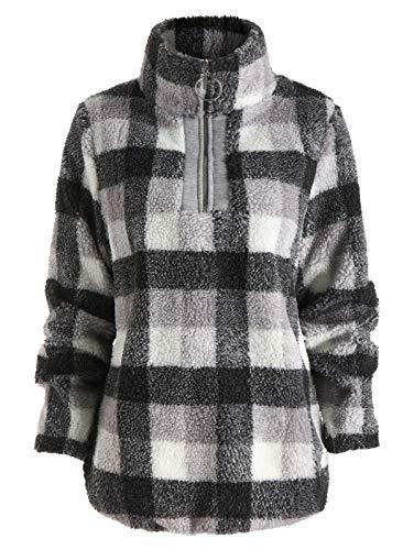Checked Sweatshirt ()