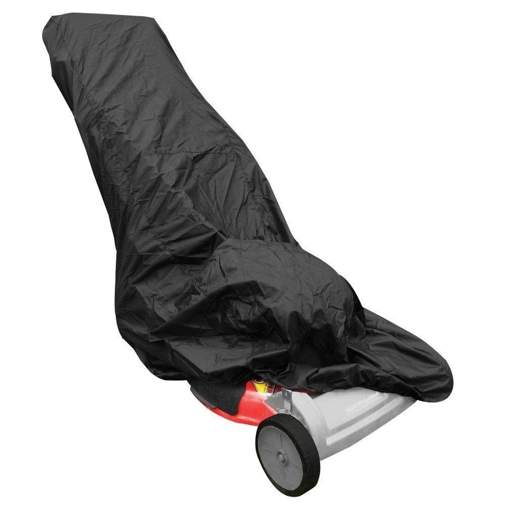 VVHOOY Waterproof Lawn Mower Cover,All Weather UV Protection Universal Fit for Toro, Craftsman, Honda, Husqvarna Push Lawnmower VV-AUTO-WLMA