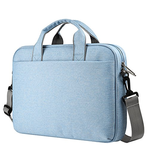 h Laptop Bag Messenger Shoulder Sleeve for Notebook, MacBook,Ultrabook Light Blue (Giant Messenger Bag)