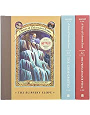 A Series of Unfortunate Events Box: The Gloom Looms (Books 10-12)