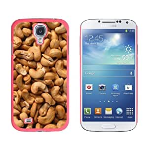 Cashews Nuts - Snap On Hard Protective Case for Samsung Galaxy S4 - Pink by ruishername