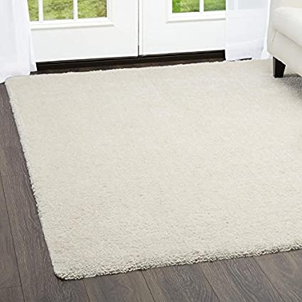 Home Dynamix and Nicole Miller | Heavenly Collection | Polyester Shag Rug in Gray | Comfortable, Soft, Cozy | Contemporary Style, 3'x5' 3'x5' NMHVS-451
