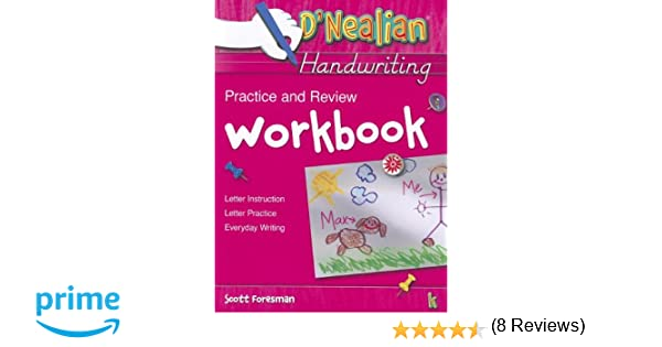D'Nealian Handwriting Practice and Review Workbook, Grade K: Scott ...